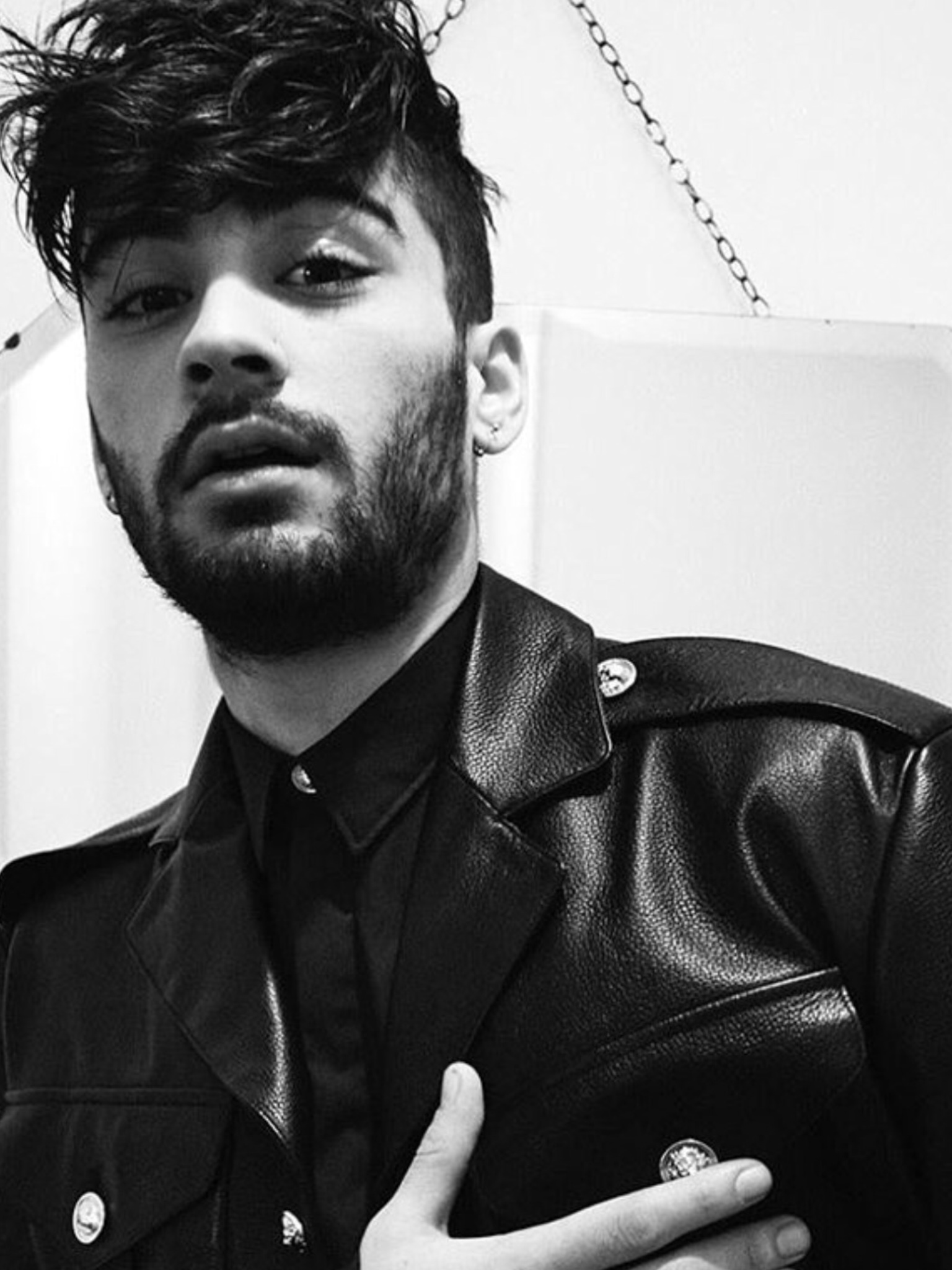 black and white, blackandwhite, boy, malik, zayn