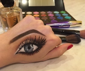 goals, hands, make up, makeup, motivation