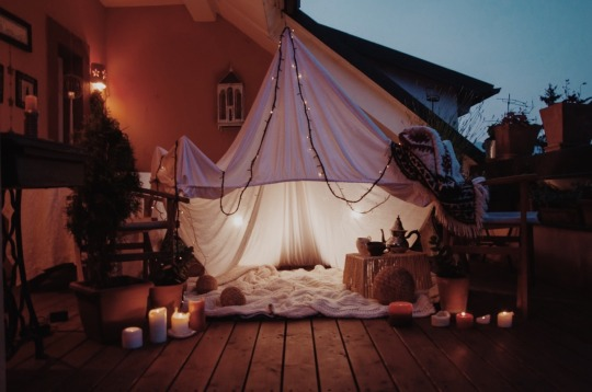 candles, cozy, lanterns, lights, outdoor