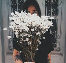 bouqet, cutie, dark, fashion, flowers