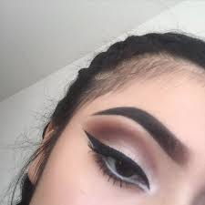 cute, dark, eye, fashion, girl
