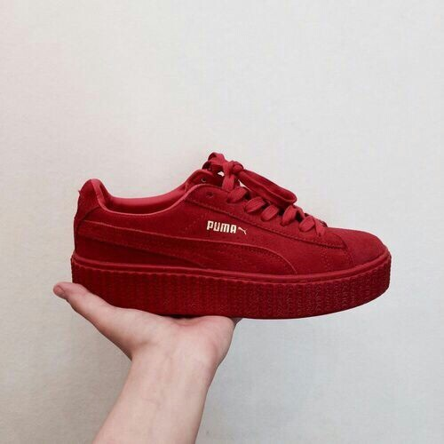 puma, red, shoes, sneaker, sneakers