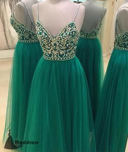 a-line, beading, cheap prom dress, dresses, evening dress