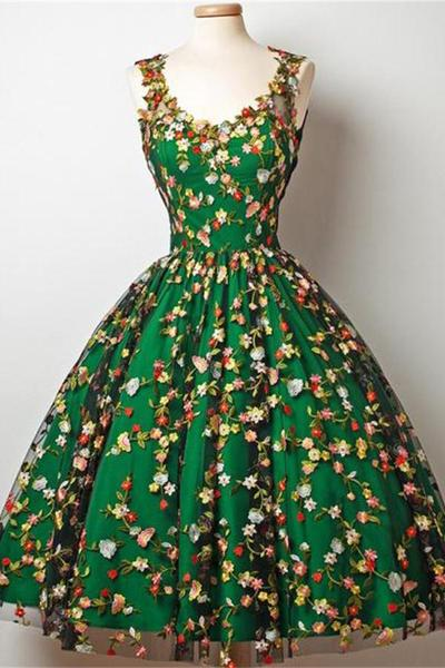 beautiful, cocktail dress, elegant, embroidery, graduation dress
