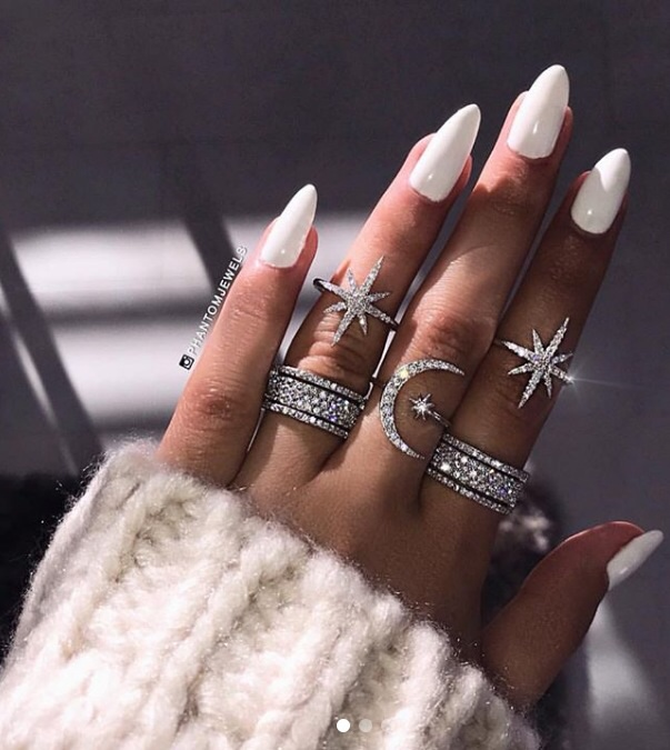 accessories, jewelry, nails, white