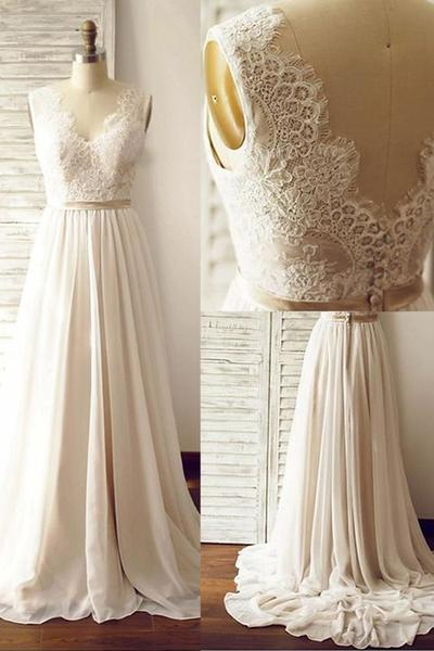beach wedding dresses, bridal dresses, bridal gowns and charming