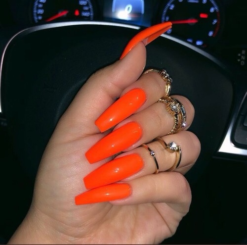 accessories, badass, jewel, long nails, nails art