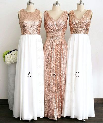 bridesmaid dresses, chiffon, long bridesmaid dresses, sequin, sparkly