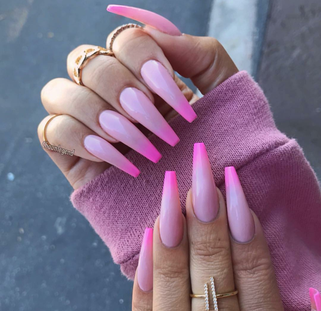 girl, girly, nails, nails art, pink