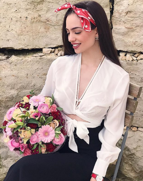 cute, fashion, flower, model, pretty